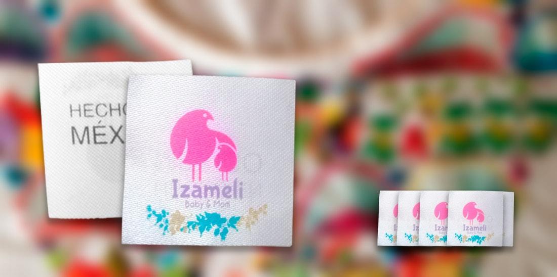 Etiqueta para ropa Izameli