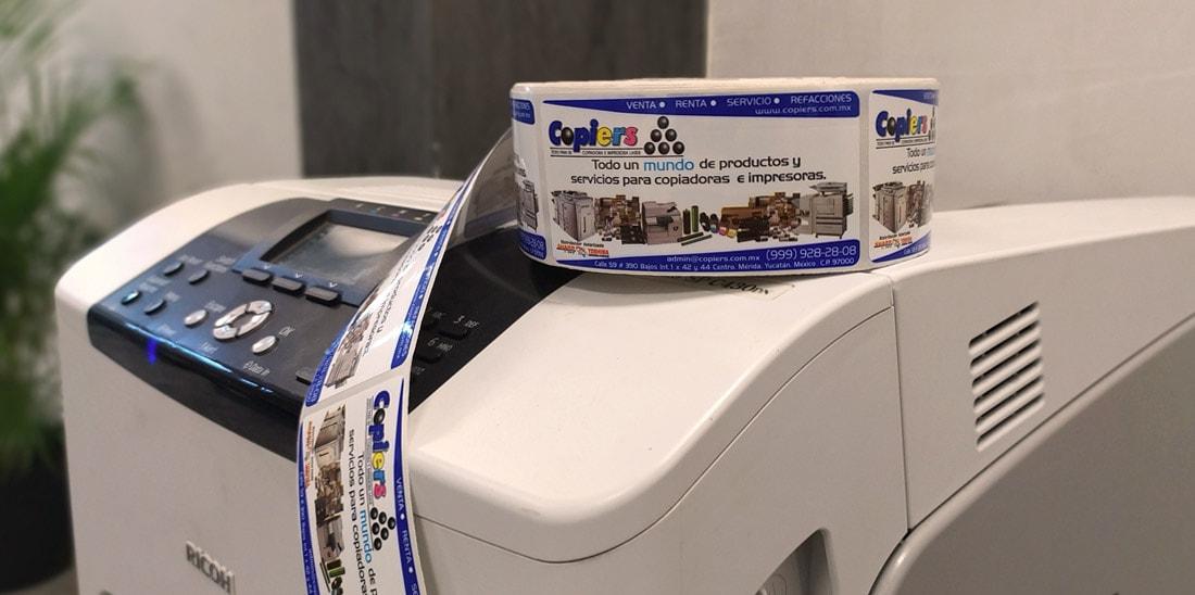 Etiquetas autoadhesivas para impresoras láser