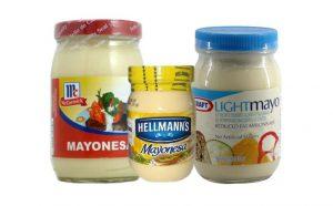 Bandas de garantía para mayonesa