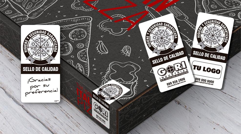 Etiquetas autoadhesivas para cajas