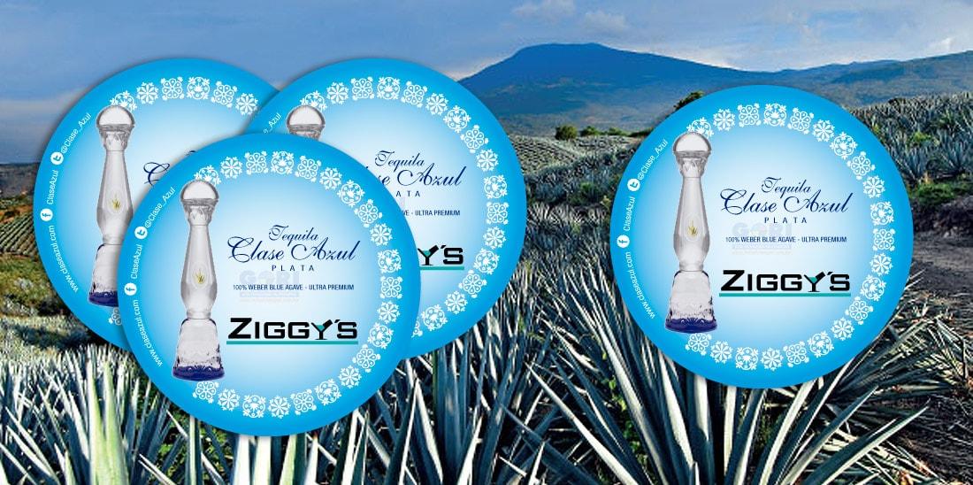 Tequila Clase Azul Portavasos de cartulina