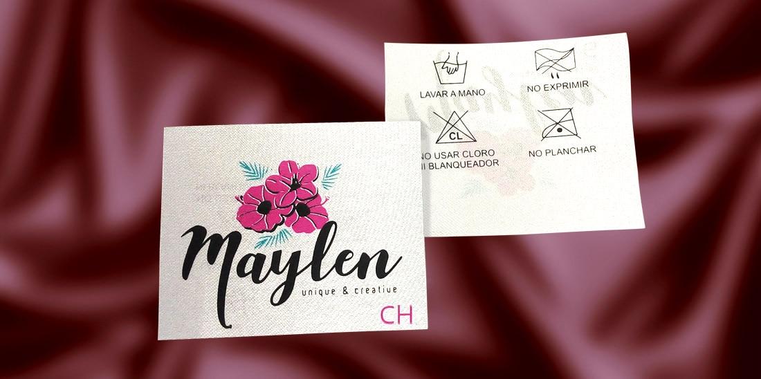 Etiqueta para ropa Maylen