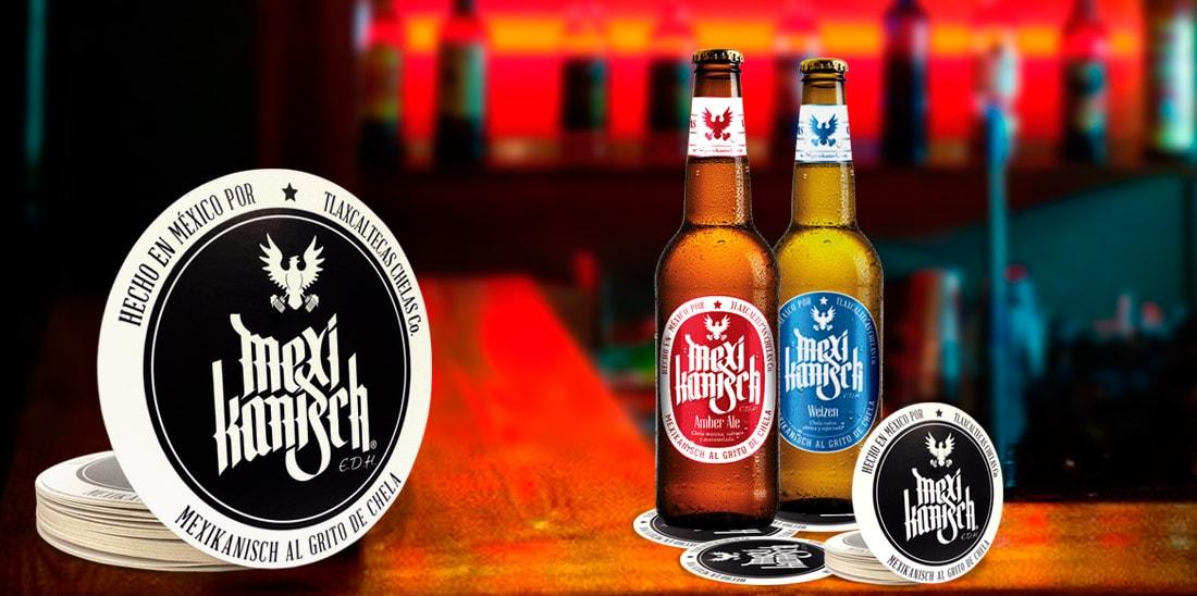 Cerveza Mexikanisch portavasos